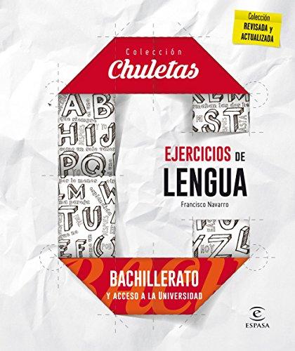 Ejercicios De Lengua Para Bachillerato - 9788467044553 (CHULETAS)