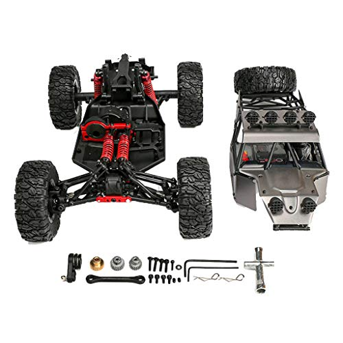HHoo88 Upgrade FY-03H 1/12 RC 4WD Crawler Car Brushless Version Frame Body Chassis RC Car Off-Road Vehicle Rock Crawler Buggy Toys Spare Accessory for Adults & Kids Gift