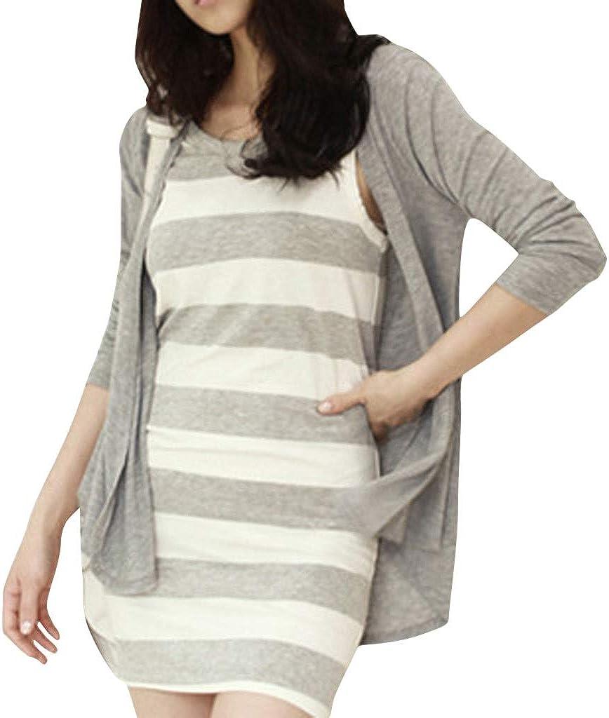 Fashion Women Pure Color Shirt Cardigan Long Sleeve Leisure Thin Coat Windbreaker Jacket Pea Coat Trench