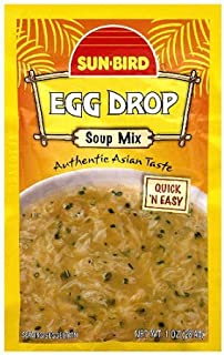 SunBird Egg Drop Soup Mix 1 oz (Pack of 6)