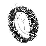 MSW - Set de espirales desatascadores 5 x 2,3 m/Ø 16 mm + 1 x 2,4 m/Ø 15 mm