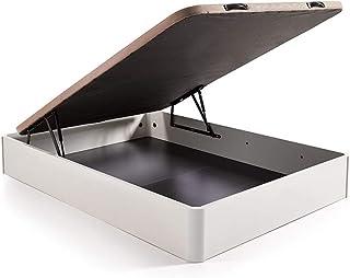 comprar comparacion HOGAR24.es. Canapé abatible Madera Gran Capacidad con Tapa 3D y válvulas de transpiración, incorpora esquineras en Madera ...