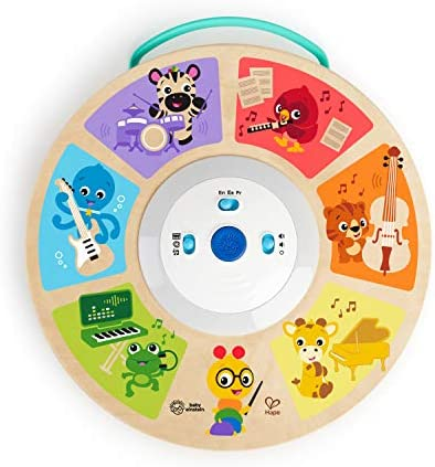 Baby Einstein Cal s Smart Sounds Symphony Magic Touch Wooden Electronic Activity Toy Ages 6 product image