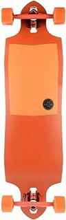 Globe Sledgehog Complete Longboard Skateboard, 10 x 37.5, Tart Orange
