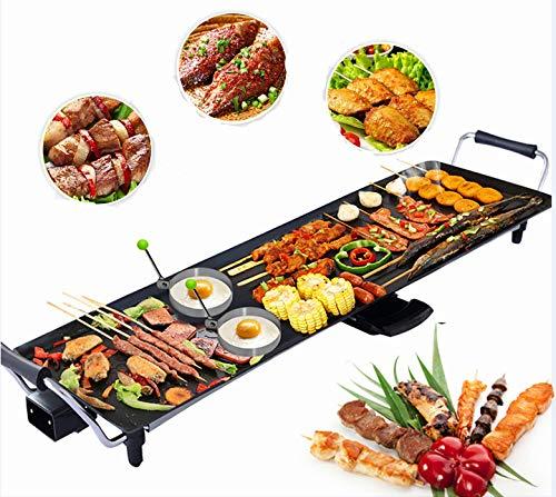 CASART Electric Teppanyaki Grill Table, 1800W/2000W...