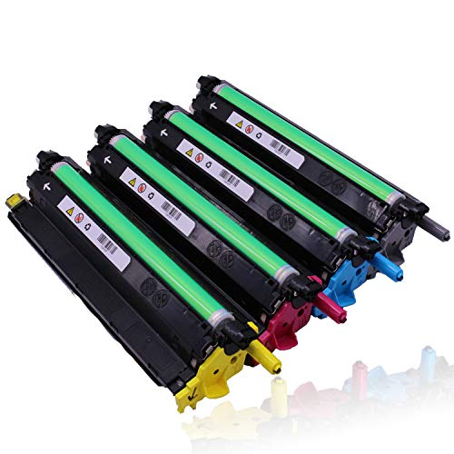 C3760N Toner Cartridge,Compatible with Dell C3760N C3760dn C3765dnf Color Laser Printer Toner Cartridge,4 colors