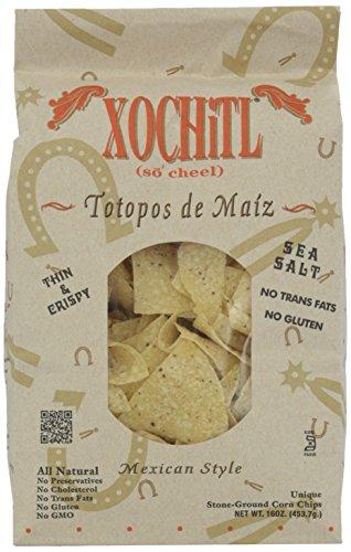 Xochitl Corn Tortilla Chips, Salted, 16 oz