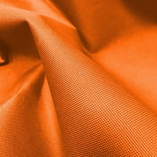 A-Express Pesado 600D Tela Gruesa Lona Impermeable al Aire Libre Cubrir Material Vendido por el medidor - 1 Metro (100cm x 150cm) Naranja