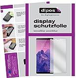 dipos I 6X Schutzfolie klar kompatibel mit ZTE Nubia Z17S Folie Bildschirmschutzfolie
