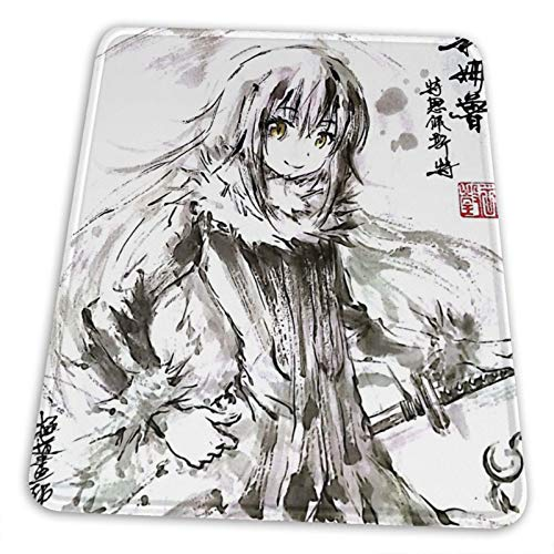 Pengpeng That Time I Got Reincarnated As A Slime Mouse Pad Office Computer Gaming Hentai Waifu Mouse Pad for Laptops Non Slip Rubber 3mm Thicken Mouse Mat