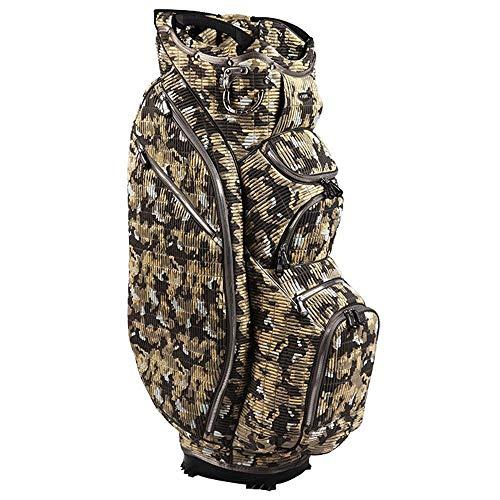 Ouul Camo 15 Way Cart Bag (Desert Camo)