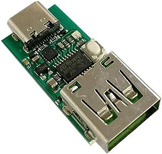 Type-CUSB-C PD2.0PD3.0からDCスプーフィング詐欺急速充電トリガーポーリング検出器USB-PDノートブック電源交換ボードモジュール(サイズ:USBコネクタ)