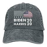 shenguang Biden Harris 2020 clásico Ajustable Vintage Denim Lavado algodón papá Sombrero Gorras de béisbol Sombrero para el Sol al Aire Libre