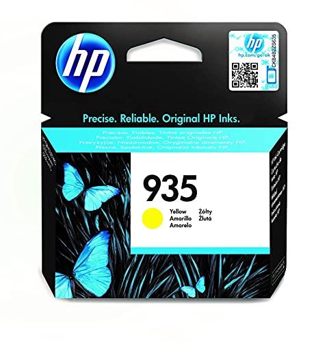 HP 935 C2P22AE, Amarillo, Cartucho Original de Tinta, compatible con impresoras de inyección de tinta HP OfficeJet 6820; HP OfficeJet Pro 6230, 6830