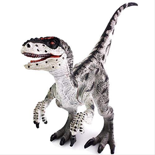 Mipojs Velociraptor jurásico Dinosaurio Figuras de Juguete de acción Colección de Modelos Animales Aprendizaje Educativo Niños Cumpleaños Niño Regalo