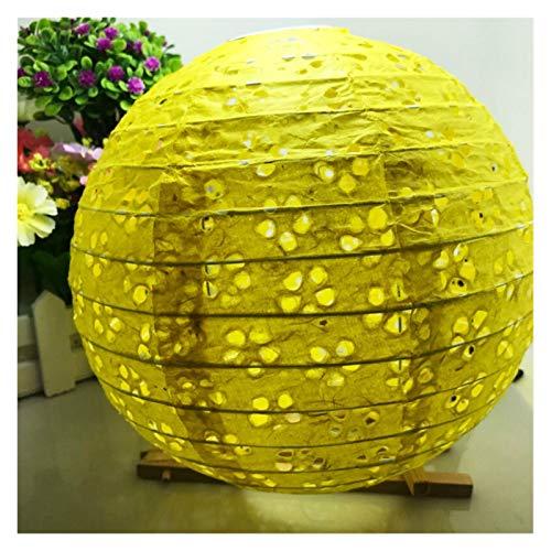 BDZC Runde Laterne 8Inch 20 cm China Aushöhlen Runder Papier Lantern Festival Zubehör Geburtstag Hochzeit Party Decor Eheh Craft DIY Hängende Lampen Partyurlaub