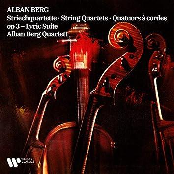 Berg: String Quartet, Op. 3 & Lyric Suite