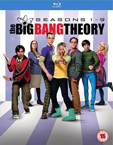 Cover Big Bang Theory - Seasons 1-9 [Blu-ray]