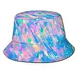 Yearinspace Tapas Opal Piedra Preciosa Fondo Moda Pescador Sombrero Adultos Cubo Sombrero Verano Pesca Fisher Beach Sun Cap