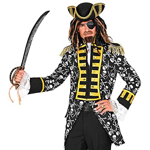 WIDMANN Widmann-49922 pirata 49922, para hombre, uniforme de garda, para guardián, bucle, capitán, disfraz, carnaval, fiesta temática, multicolor, medium