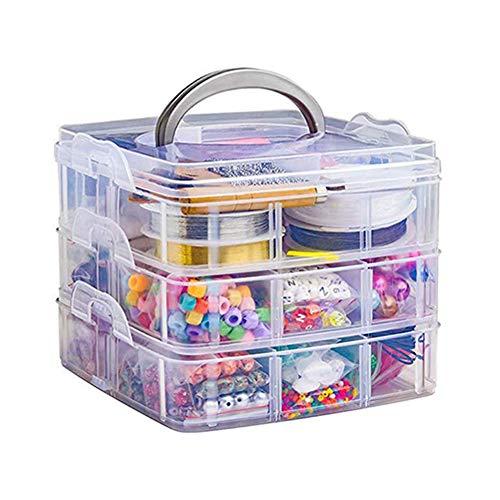Kit de suministros para hacer joyas, aretes, set de bricolaje con cuentas, alicates de cuentas de alambre para collar, pulsera y pendientes, 2456 piezas