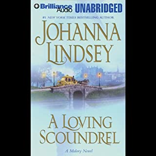 A Loving Scoundrel audiobook cover art