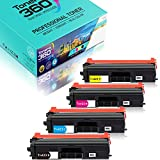 Tóner Compatible para Brother TN-423 TN-421BK TN-423C TN-423M TN-423Y para Brother HL-L8260, HL-L8260CDW, HL-L8360CDW; DCP-L8410CDN, DCP-L8410CDW; MFC-L8690, MFC-L8690CDW, MFC-L8900CDW(4 Paquete)