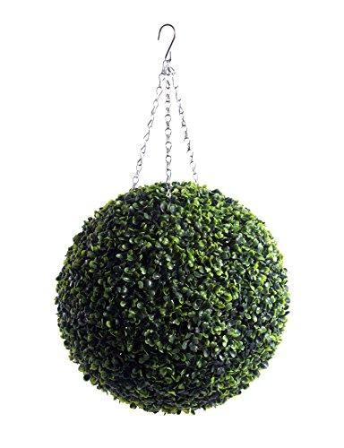 2 Künstliche Buchsbaumkugeln, 38 cm - 4