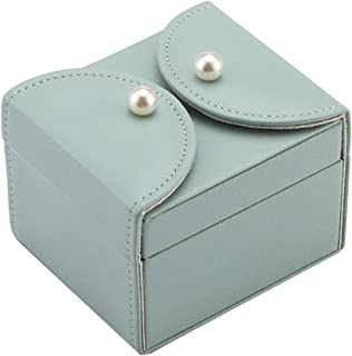 Jewellery Boxes Organisers Boxes Jewelry Storage Box Jewellery Box Organizer Jewellery Box Jewellery Organizer Case Jewellery Box Necklace Storage (Color : Green, Size : 10.5 * 9 * 7.8cm)