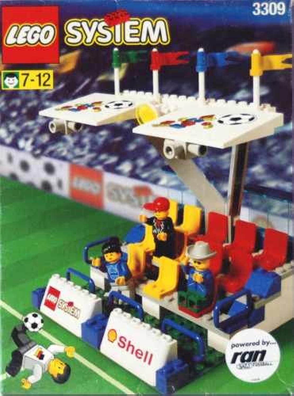 LEGO System Fußball 3309 Haupttribüne B002HFCR5M  Schön geformt   Haben Wir Lob Von Kunden Gewonnen