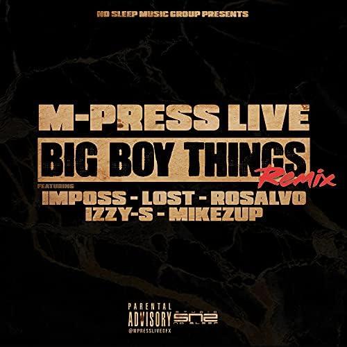 M-Press Live feat. Imposs, Lost, Rosalvo, Izzy-S & MikeZup
