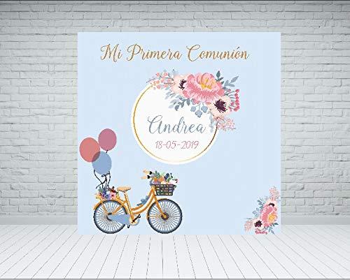 Lona de Comunión Bicicleta