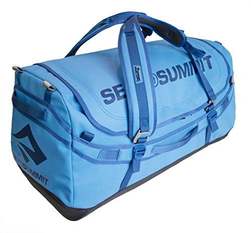 Sea to Summit Nomad Durable Travel Duffle & Zaino, Blu, 90 L