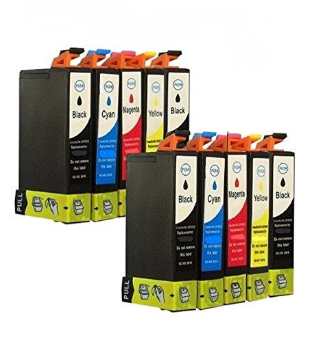 10 Tintenpatronen für Epson mit freier Farbauswahl alle mit Chip Epson Stylus SX218 Stylus SX417 SX510 DX 4400 DX6000 DX7400 SX 200 DX4000 SX210 D78 DX4000 DX4050 DX5050 DX6000 DX6050 DX7000F DX5000 DX4400 D92 SX515W D120 DX8400 DX7400 DX7450 DX8450 DX9400FS DX4450 SX205 SX415 SX215 SX110 SX400 S20 Office BX310FN OfficeBX300F SX210 SX400 Wifi Office B40W SX115 SX100 SX600FW Office BX600FW SX105 SX405 SX200 DX8400 SX400 SX100 SX405 S21 DX9200 SX410 DX5000 Stylus Office BX610FW Stylus DX 5500