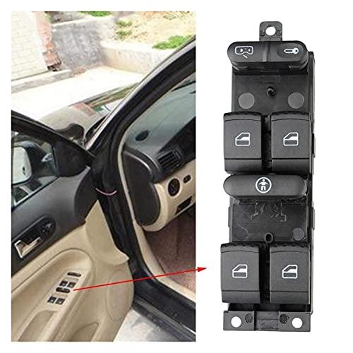 Botón de Control de Ajuste del Interruptor de elevación Apto para VW 99-04 Golf 4 Jetta MK4 Bora Passat B5 B5.5 Interruptor eléctrico de Ventana de Coche 3BD 959, Piezas de automóvil
