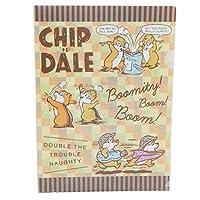 ドナルド&チップ&デール[ファイル]A4 シングル クリアファイル/2119641 ディズニー