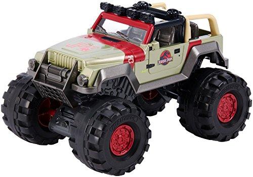 Mattel FMY49 Metal vehículo de Juguete - Vehículos de Juguete (Multicolor, Coche, Metal, Matchbox Jurassic World, 93 Jeep Wrangler, 3 año(s))