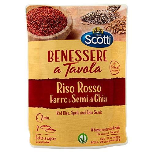Riso Scotti - Benessere a Tavola Riso Basmati, Farro e Quinoa - Pronto in 2 Minuti - 250 gr