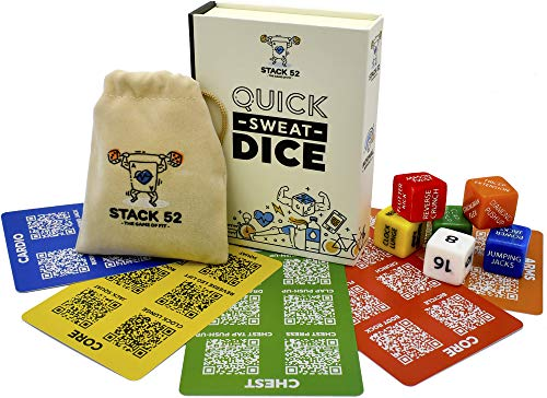 Stack 52 Fitness Dice