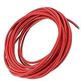Cabilock 10M 6Mm2 Cable de Extensión Cable de Alimentación Adaptador de Enchufe Del Cable de Alimentación de Energía Solar para Panel Solar Rojo