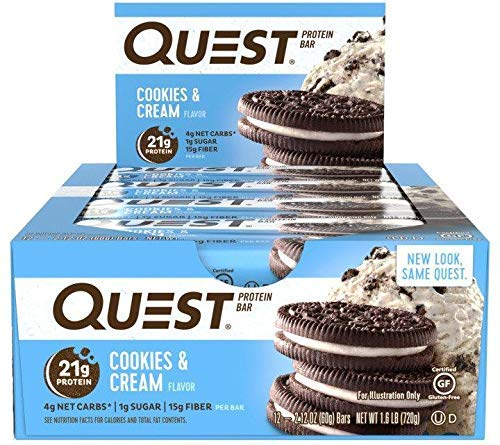 Quest Nutrition Chocolate Favorites Protein Bar (24 Count)