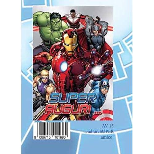 Avengers - Biglietto D'Auguri Super Auguri