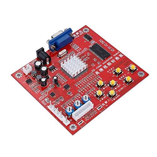 Tablero de Juego VGA, Tablero convertidor de Videojuegos de Alta definición RGBS/CGA...