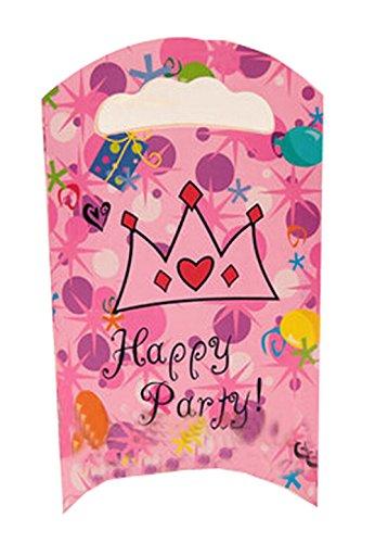 Lot de 15 sachets de fête en papier cadeau Sacs de fête enfant, 21,6 cm