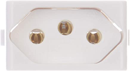 Módulo Tomada 2p+t 20a 1 Módulo Decor Schneider Electric Branco