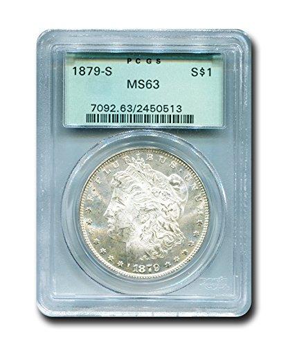 1879 S Morgan Dollar PCGS MS-63