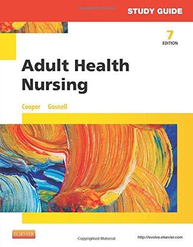 Study Guide for Adult Health Nursing - E-Book