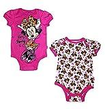 Disney Baby Minnie Maus Baby Strampler-Set, 2 Stück -  -  6/9M US
