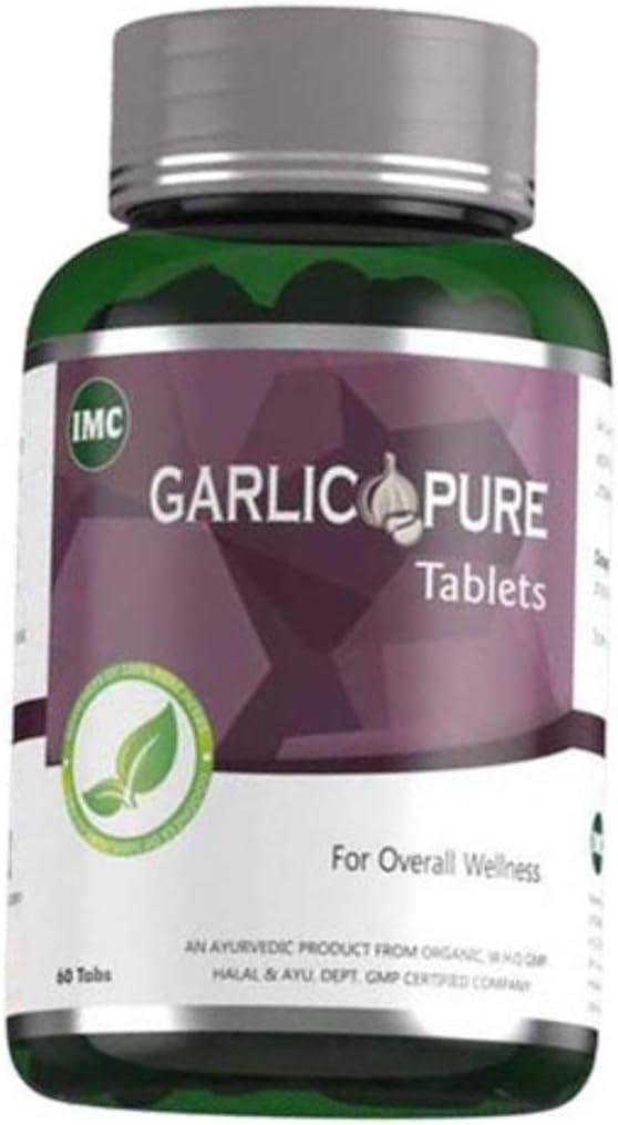 Marbella IMC Herbal Garlic Tablets Pure 60 Award-winning store Sales for sale 500mg