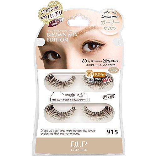D.U.P Eyelashes Brown mix 915 [Badartikel]